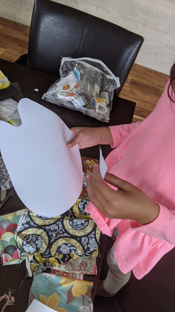 EASY SEWING PROJECT -  A BEAUTIFUL AT-HOME LEARNING OPPORTUNITY FOR YOUR CHILDREN 2