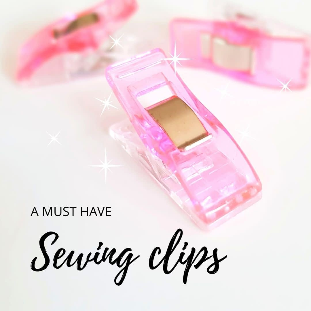 Sewing Clips - pros and cons of using them 1