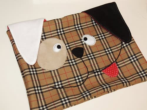 how to sew decorative dog pillow free pattern _ step 5