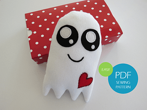 Easy ghost sewing pattern and tutorial for beginners 1