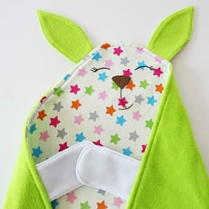 Bunny baby Blanket_easy sewing project for beginners for baby boy or baby girl_ baby shower gift